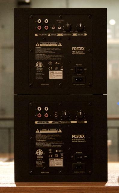 FOSTEX(フォステクス) PM-SUBmini 2 入荷しました