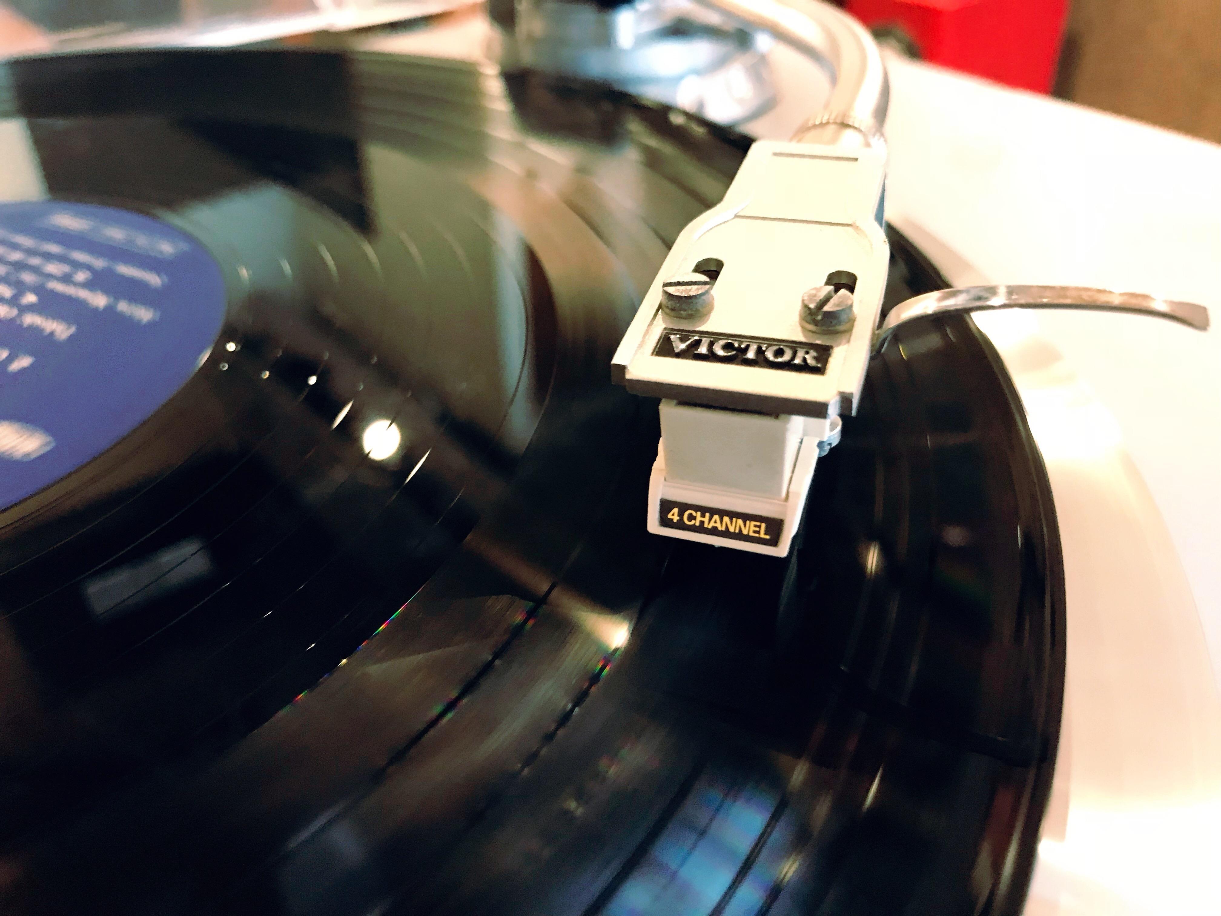 4チャンネル・ステレオ・レコードを聴く会(第4回)を開催します!