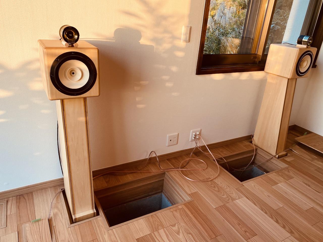 床下コンクリートバックロードホーン